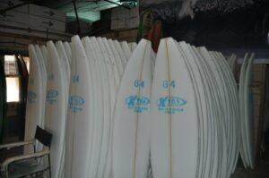 Fábrica de tablas de surf