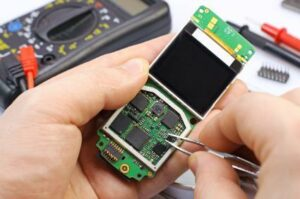 reparación de smartphones, muchos negocios rentables