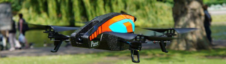 Parrot AR Drone 2.0, negocios con drones
