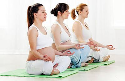Yoga pre y post embarazo