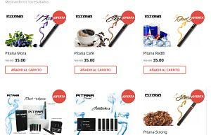 página web cigarrilos electrónicos