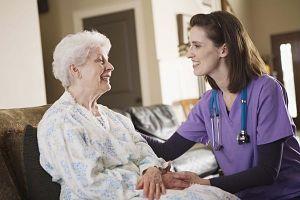 Negocio de cuidadores de ancianos