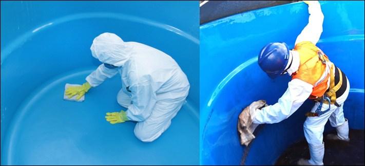 Cómo ganar dinero limpiado tanques de agua