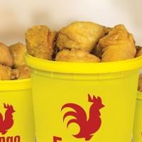 Cómo hacer pollo frito en cubo para vender por delivery
