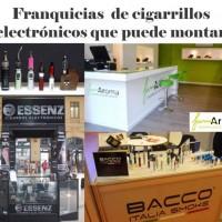 Franquicias  de cigarrillos  electrónicos que puede montar1