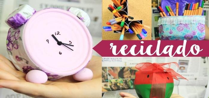 Artesanías para vender con materiales reciclados