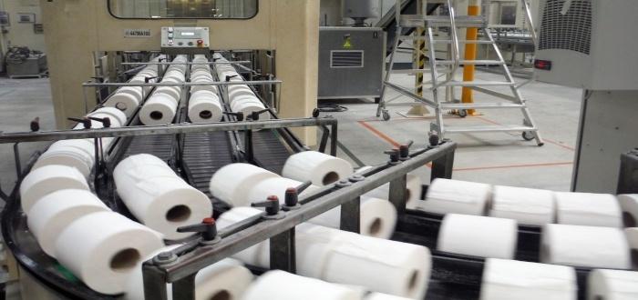 Maquinaria para fábrica de papel higiénico