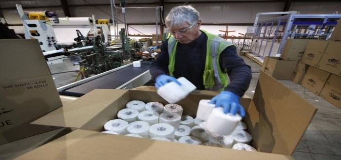Presupuesto para una fábrica de papel higiénico