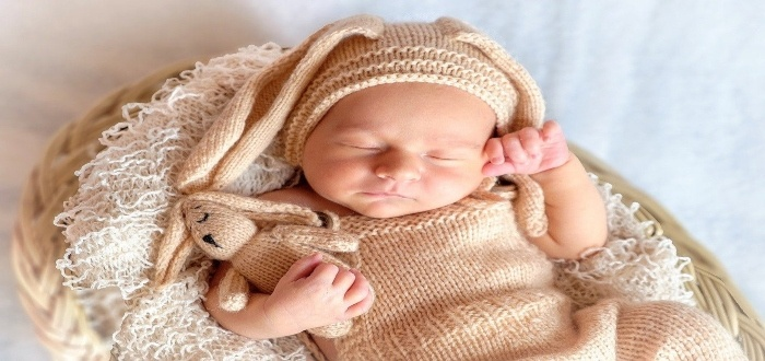 Ropa para bebés tejida