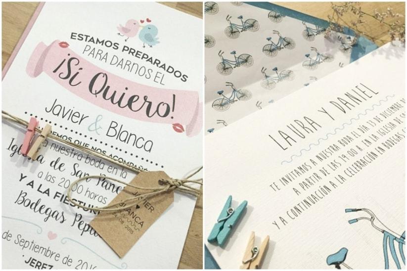 C mo ganar dinero haciendo invitaciones de boda - Modelos de tarjetas de boda ...