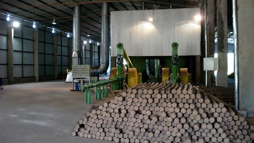 Cómo montar una fábrica de briquetas o bloque sólido combustible