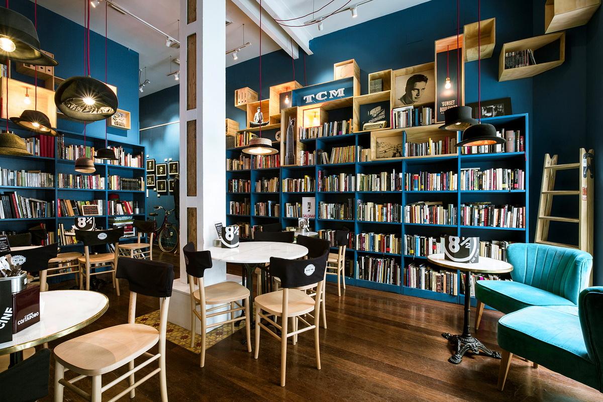 C mo montar una librer a caf consejos para tener xito - Librerias de pared ...