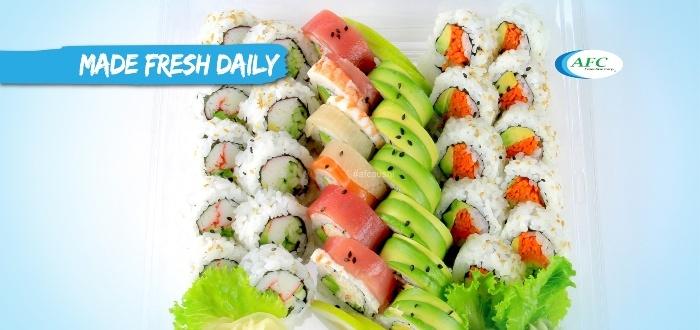 Únete a las franquicias de comida japonesa AFC.