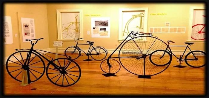 El museo de bicicletas es una de las ideas más modernas de los negocios de bicicletas