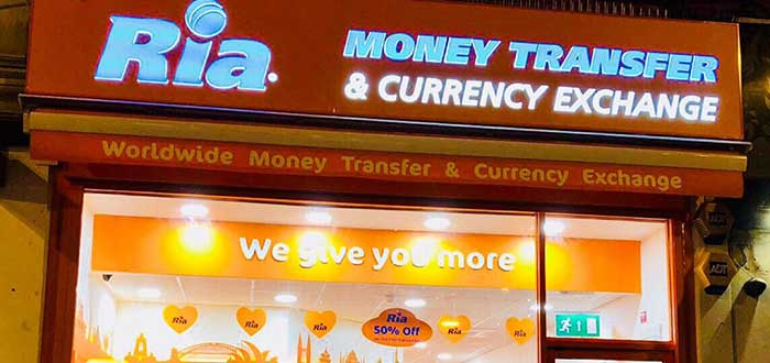 Franquicia Ria Money Transfer