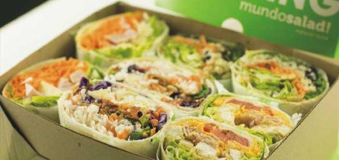 Franquicias de comida rápida saludable - Mundo Salad