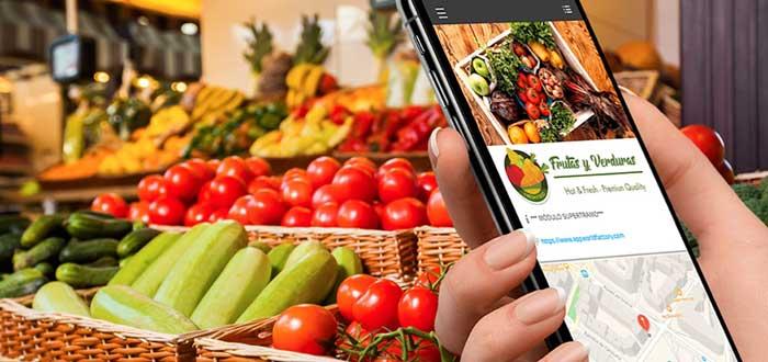 Para para un negocio de venta de frutas y verduras a domicilio