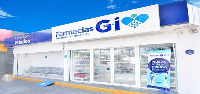 Franquicias de farmacias gi es una empresa dedicada a la comercialización de medicamentos e insumos para la salud.