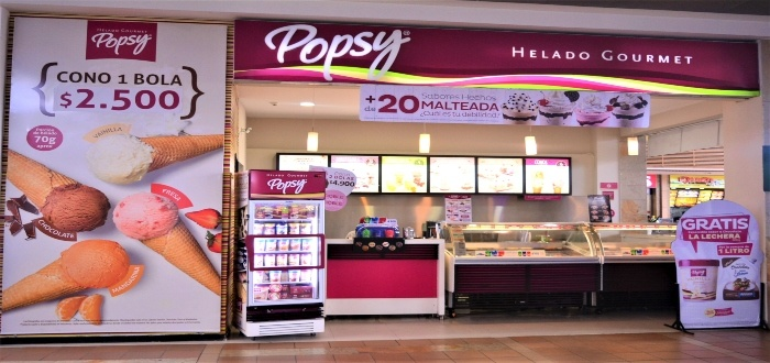 Franquicias de helados Popsy