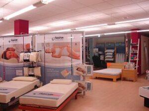 Tienda de colchones y artículos para el sueño