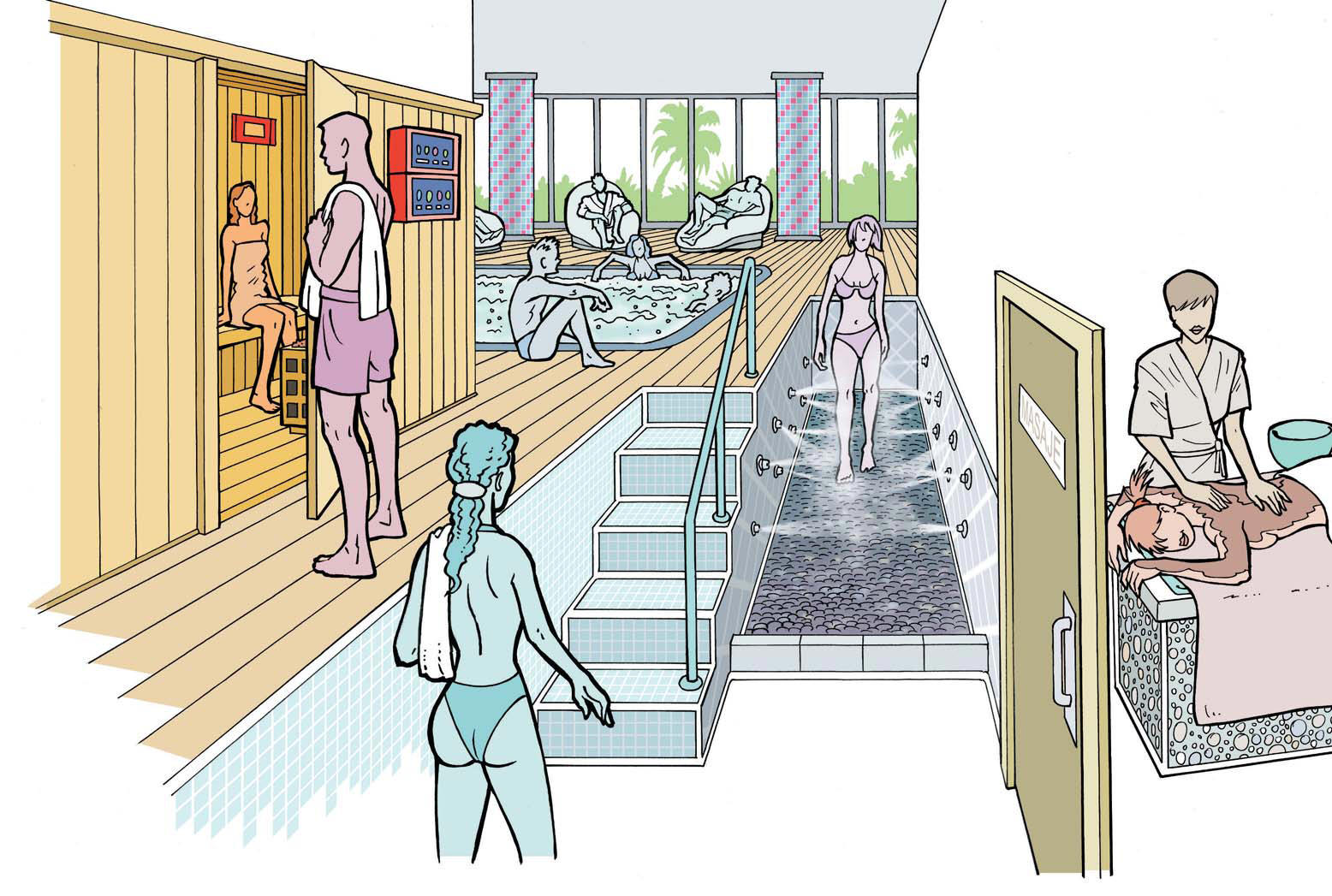Cómo abrir un negocio de spa o centro de bienestar