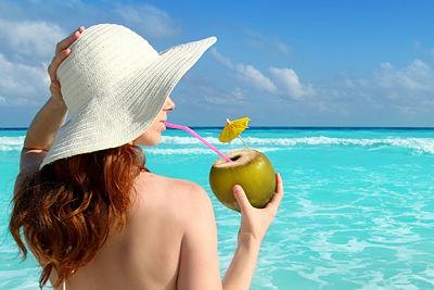 Venta de agua de coco