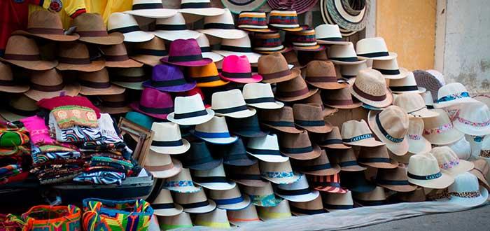 negocio de ropa de sombreros