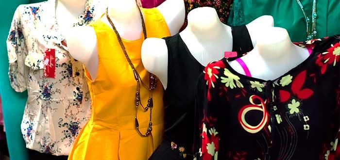 maniquies de vestidos y camisas