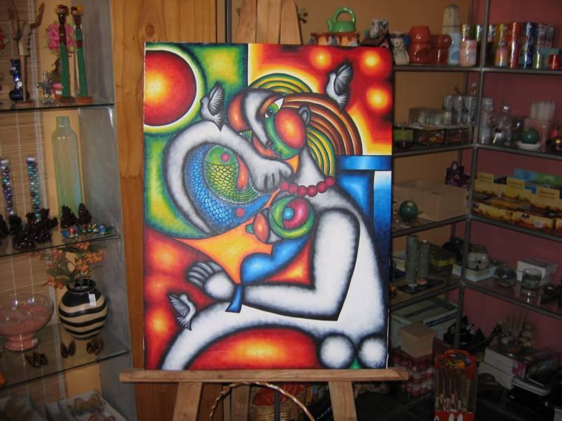 pinturas artesanales