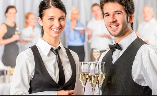 Empresa de camareros: ofrecer servicio de camarero para fiestas