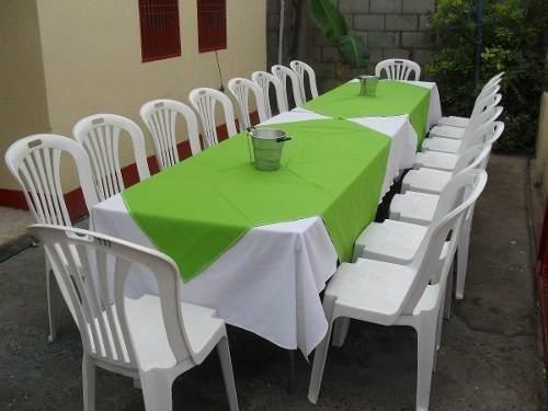 Cómo montar una tienda de alquiler de mesas y sillas