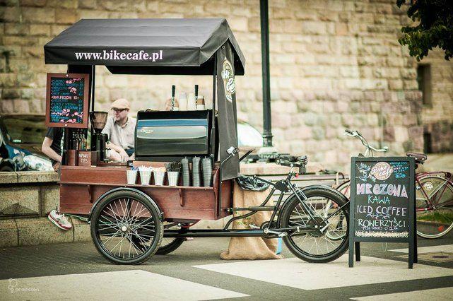 Cómo montar un bike coffee - cafetería sobre ruedas