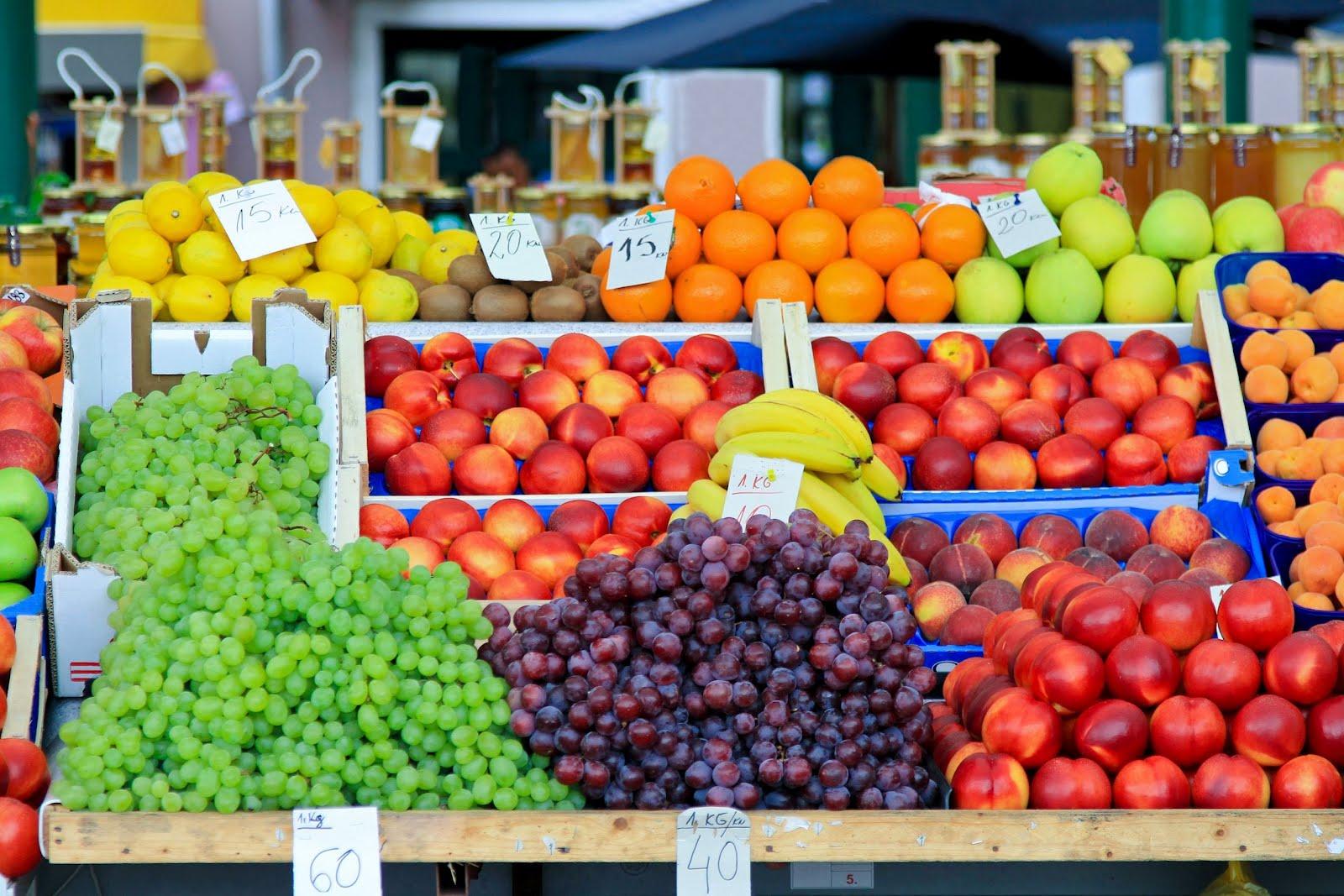Puesto de frutas: cómo montar y vender en la calle