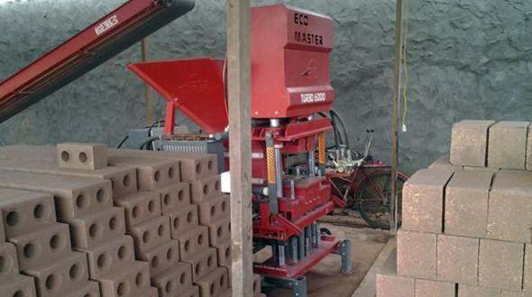 Cómo montar una fábrica de ladrillos ecológicos