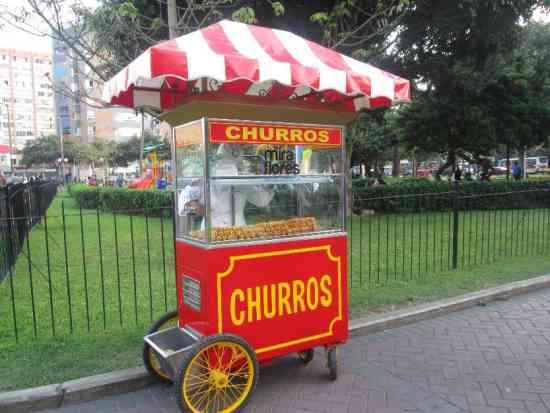 Carrito de churros: vender en las calles y en fiestas