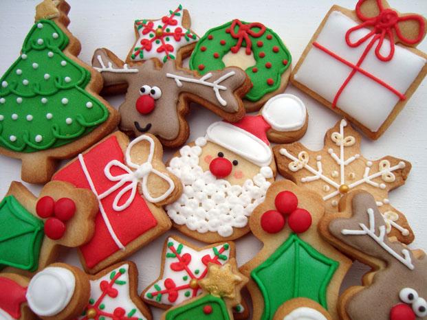 Como Decorar Galletas Pinos Navidad