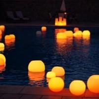 Negocios innovadores for Velas flotantes piscina