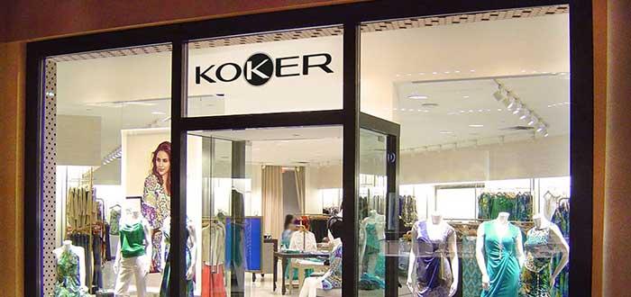 Koker franquicias de tiendas de ropa