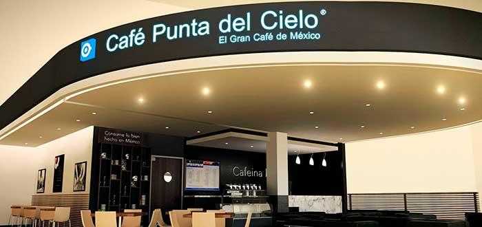 fachada café Punta del Cielo