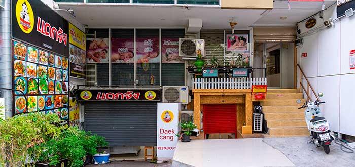 fachada de restaurante