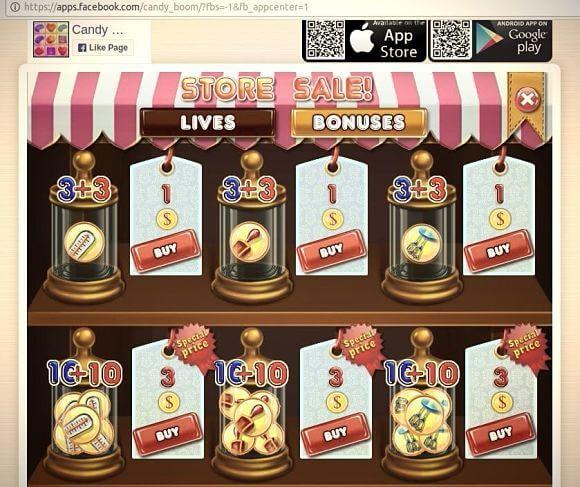 Ganar dinero en Facebook con apps de Facebook con publicidad o venta directa