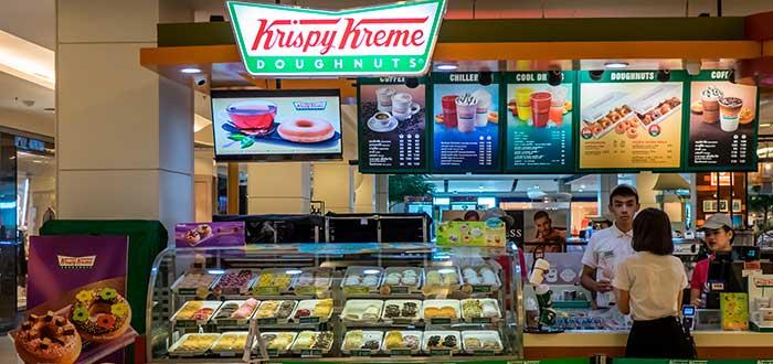 punto de venta de krispy kreme