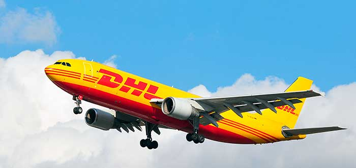 avión de franquicia dhl