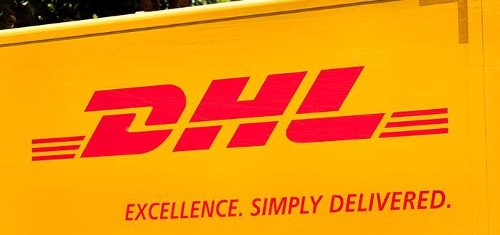 "imagen con leyenda ""DHL Excellence Simply Delivered"""