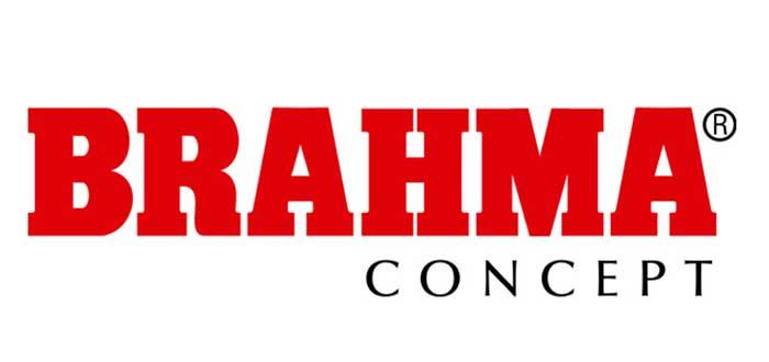 logo de brahma, una franquicia en Colombia