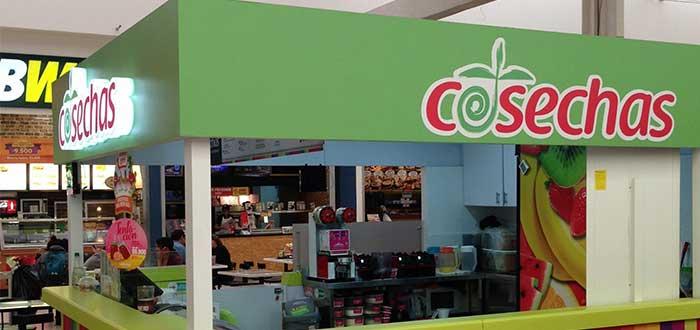 Jugos Cosechas - Franquicia shop in shop
