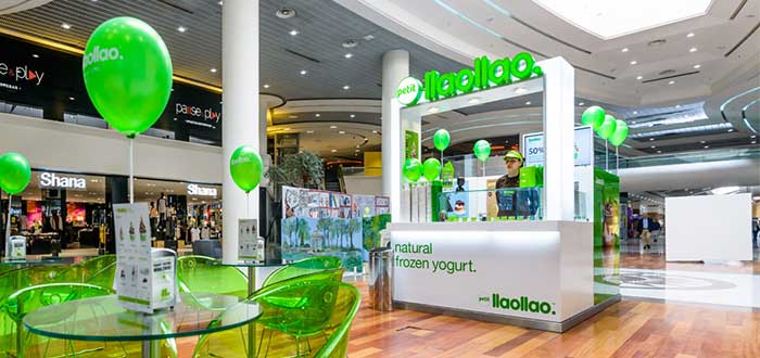 Llaollao - Franquicia shop in shop