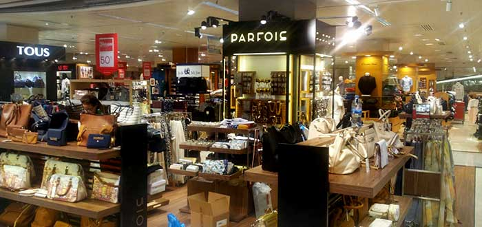 Parfois - Franquicia shop in shop