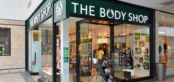 local/tienda de una franquicia The Body Shop