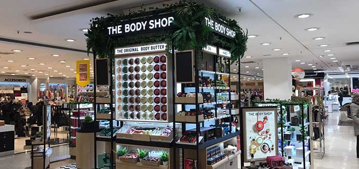 The body shop - Franquicia shop in shop